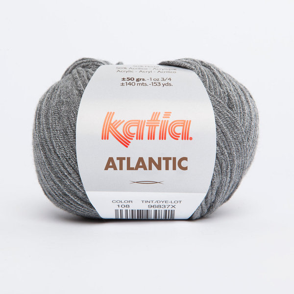 Atlantic (Pacific) schwarz (108) 50 g/LL ca. 140 m