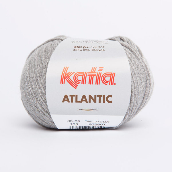 Atlantic (Pacific) grau (105) 50 g/LL ca. 140 m