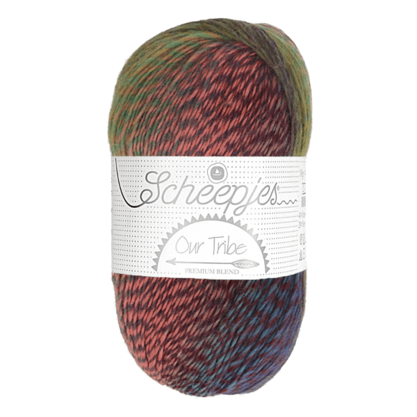 Scheepjes Our Tribe Excitement (987) 100 g / LL 420 m
